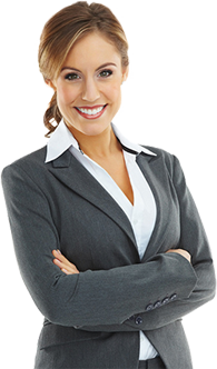 Female leasing agent
